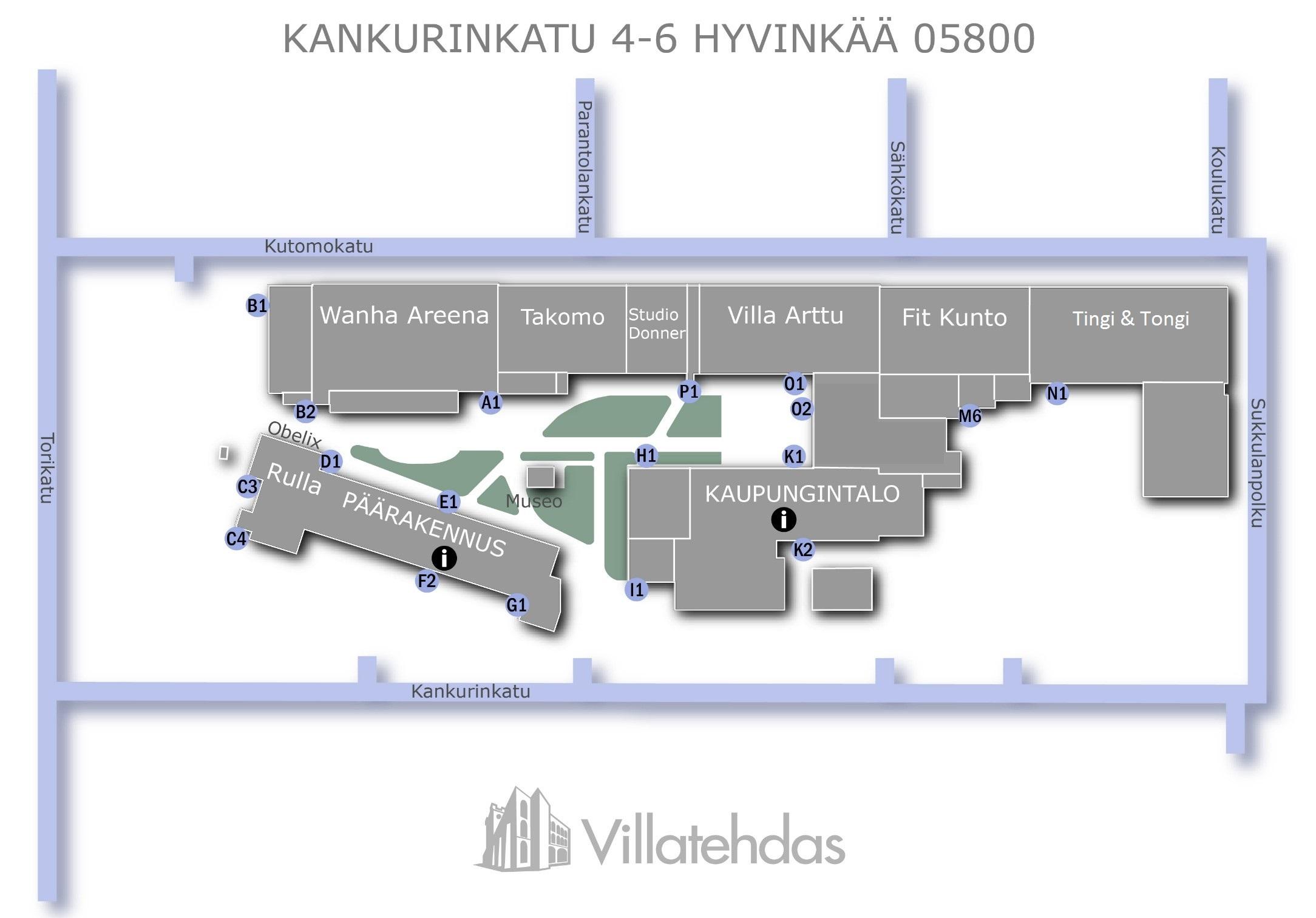 Yhteystiedot Villatehdas